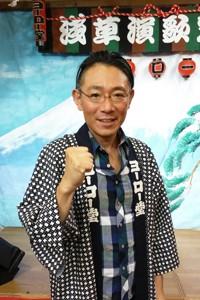 東京・浅草の老舗レコード店「ヨーロー堂」の名物店主・松永好司氏