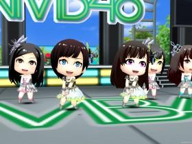 NMB48メンバーで構成された画面