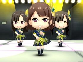 HKT48メンバーで構成された画面