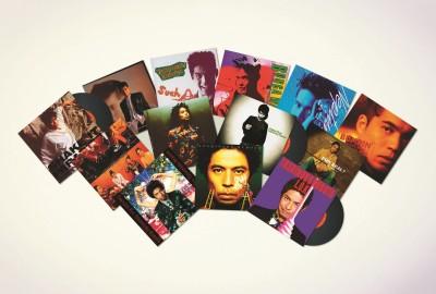 オリジナルアルバム13アイテムがアナログレコードBOXに