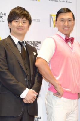 『人生のパイセンTV』でMCを務めるオードリー(左から)若林正恭、春日俊彰 (C)ORICON NewS inc.