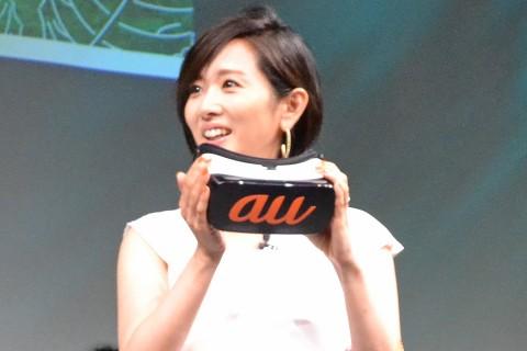 少女のような笑顔でコンテンツを楽しんだ高島彩(C)ORICON NewS inc.