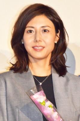 現在、3年ぶりの主演ドラマで『営業部長 吉良奈津子』を演じている松嶋菜々子 (C)ORICON NewS inc.