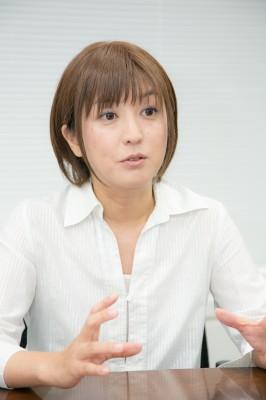 臨床心理をもっと身近に感じて欲しいと語る松島雅美氏