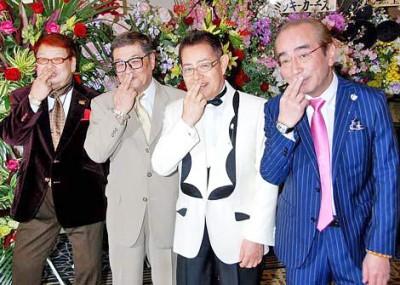 ザ・ドリフターズの(左から)高木ブー、仲本工事、加藤茶、志村けん (C)ORICON NewS inc.