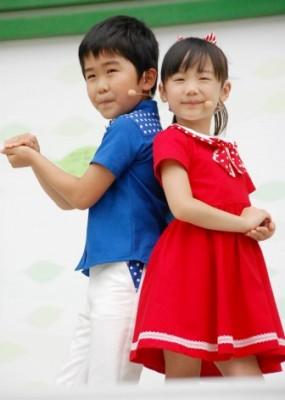 """""""マルモリダンス""""で話題を集めた(左から)鈴木福&芦田愛菜 (C)ORICON NewS inc."""