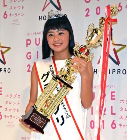 『第41回ホリプロタレントスカウトキャラバン』で史上最年少の12歳でグランプリに輝いた柳田咲良(やなぎた・さくら)さん