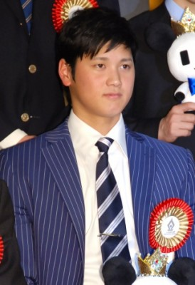 """今年""""日本一""""に輝いた大谷翔平選手 (C)ORICON NewS inc."""
