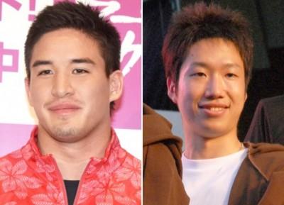 リオ五輪で活躍した柔道のベイカー茉秋選手(左)と卓球の水谷隼選手 (C)ORICON NewS inc.