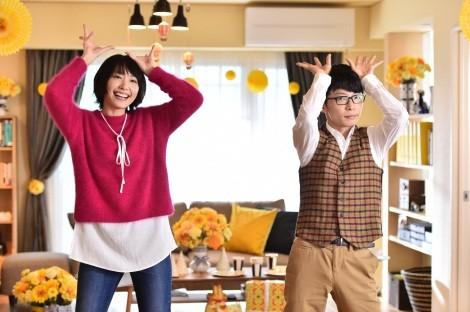 """社会現象になった新垣結衣と星野源の""""恋ダンス""""『逃げるは恥だが役に立つ』(TBS系)(C)TBS"""