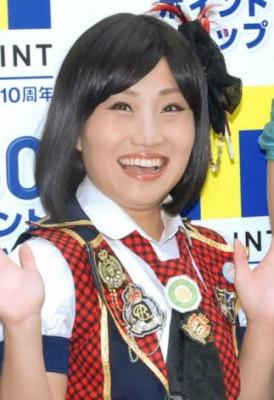 前田敦子のものまねで人気を得たキンタロー。