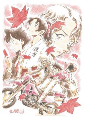5年連続シリーズ最高興収を更新した劇場版21作目『名探偵コナン から紅の恋歌』