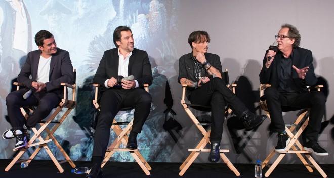 (左から)オーランド、ハビエル、ジョニー、ジェフリー