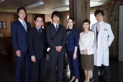 木曜ミステリー『遺留捜査』(テレビ朝日系)キービジュアル