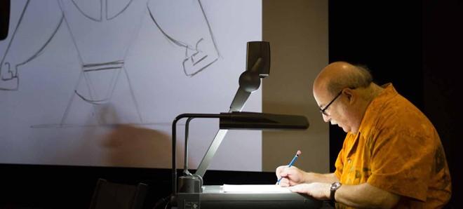 手描きアニメーターのエリック・ゴールドバーグ氏