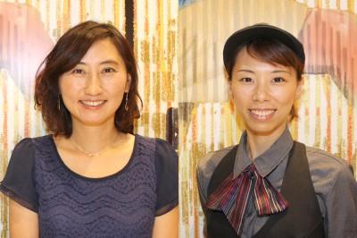 答えてくれるのはマックのママ社員・山本美和さんと福田知香さん