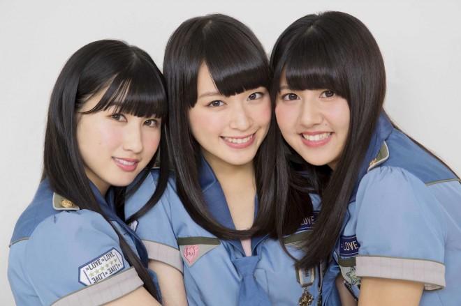 左から:山本杏奈、佐々木舞香、佐竹のん乃