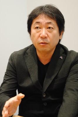 相馬信之氏(アミューズ取締役専務執行役員)