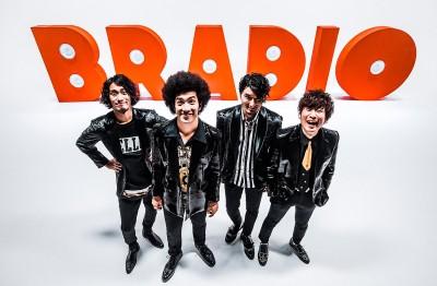 男性4人組のファンクバンド・BRADIO