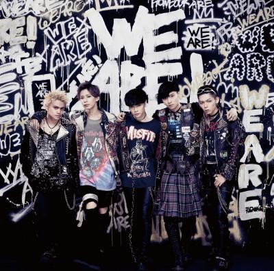 FlowBackの最新シングル「WE ARE!」