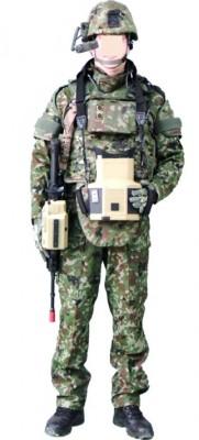 装着する隊員が使い易く、防護力・攻撃力が高まるシステムであり、隊員の任務遂行能力向上を目的とした『先進個人装備シテム』