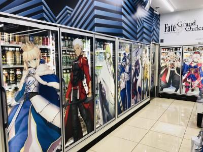 Fate/Grand Order キャンペーンを開催中のローソン (C)TYPE-MOON / FGO PROJECT