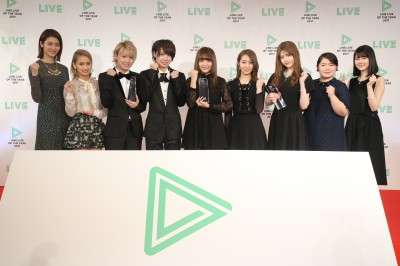 『LINE LIVE OF THE YEAR 2017』の授賞式が12月21日