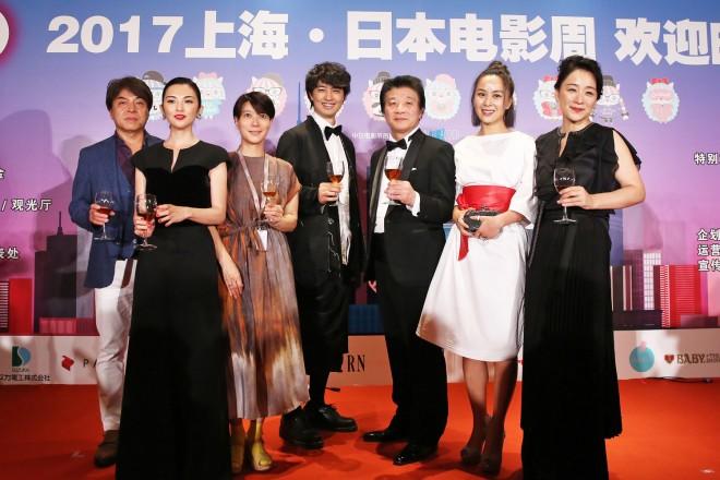 第20回 上海国際映画祭(2017年6月17日〜26日)の正式イベントとして行われた「2017 上海・日本映画週間」レセプションパーティー の模様