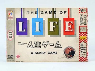 初代『人生ゲーム』パッケージ