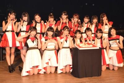 昨年9月14日に開催された『結成20周年記念イベント』にはOG道重・田中も駆けつけた (C)ORICON NewS inc.