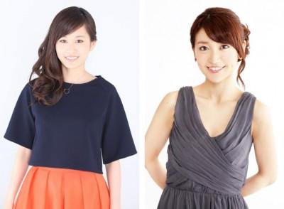前田敦子(左)と大島優子(右)