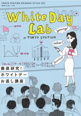 丸の内OLに聞いたアンケートをもとにしたホワイトデーマニュアル『White Day Lab』