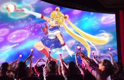 オリジナルストーリーの「美少女戦士セーラームーン・ザ・ミラクル 4-D」は連日人気を集めている 画像提供:ユニバーサル・スタジオャパン(C)Naoko Takeuchi