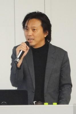 講師を務めた分部悠介氏(弁護士・弁理士・IP FORWARDグループ総代表/CEO)