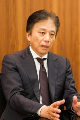 一般社団法人 日本eスポーツ連合の岡村秀樹会長 (撮影:逢坂聡)