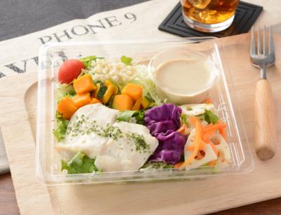 サラダをメイン食事にする人も増えており、ボリューミーなサラダの需要は高い