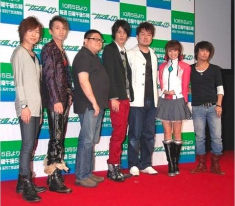 2008年に行われた『機動戦士ガンダム00(ダブルオー)』イベント時の様子(C)ORICON News.inc.