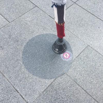 固定されていない「脚」を発見