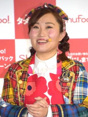 """欅坂46・平手のモノマネにより""""炎上""""したキンタロー。 (C)ORICON NewS inc."""