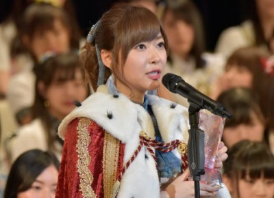 昨年3連覇を果たしたHKT48指原莉乃は今年は不出馬