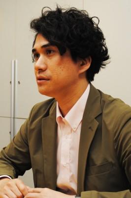 岡田武士氏(EMI Recordsマネージング・ディレクター)