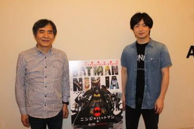 脚本家・中島かずき(左)、監督・水崎淳平(右)