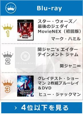 上半期Blu-rayランキング