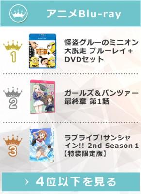 上半期アニメBlu-rayランキング