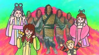 織姫、乙姫、かぐや姫に囲まれ、モテモテの彦星を演じる前野朋哉