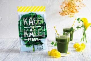 今回のオリジナルドリンクを「Kale de Kale Fiber」で作りました