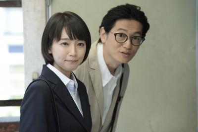 左から吉岡里帆、井浦新(C)カンテレ
