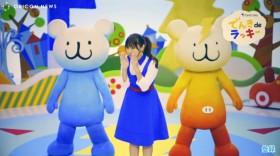 歌と踊りに挑戦した深田恭子