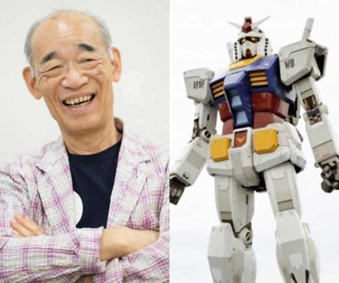 富野由悠季監督と「実物大ガンダム立像」