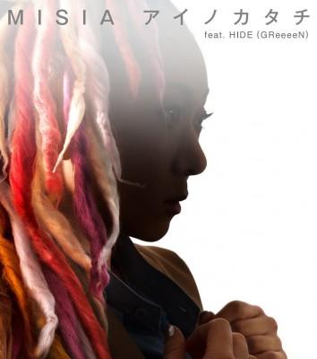 MISIAのシングル「アイノカタチ feat.HIDE(GReeeeN)」が8/27付オリコン週間デジタルシングル(単曲)ランキングで2週連続1位を獲得